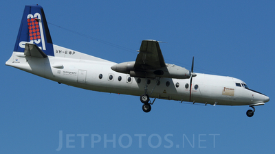 VH-EWP - Fokker F27-500RF Friendship - Fugro Airborne Surveys