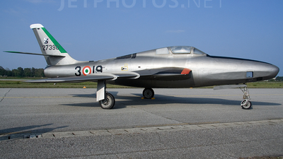 MM52-7390 - Republic RF-84F Thunderflash - Italy - Air Force