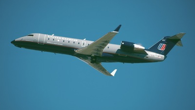 N677BR - Bombardier CRJ-200ER - United Express (Atlantic Coast Airlines)