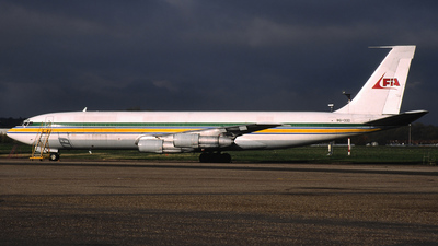 9G-OOD - Boeing 707-399C - First International Airways