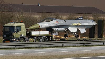 E-176 - General Dynamics F-16AM Fighting Falcon - Denmark - Air Force