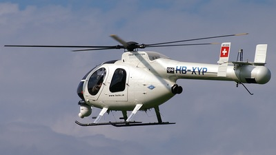 HB-XYP - McDonnell Douglas MD-520N - Fuchs Helikopter