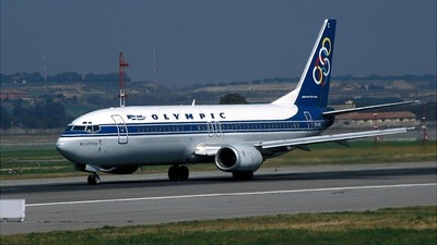 SX-BKC - Boeing 737-484 - Olympic Airways