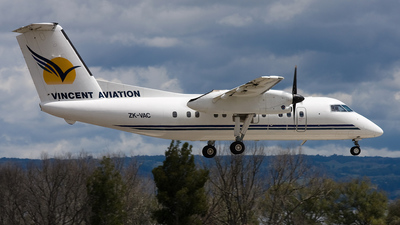 ZK-VAC - Bombardier Dash 8-102 - Vincent Aviation