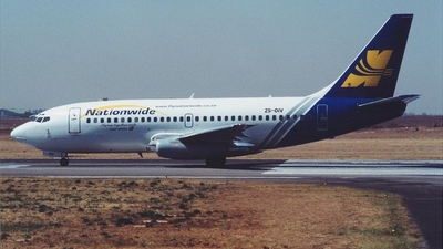 ZS-OIV - Boeing 737-230(Adv) - Nationwide Airlines