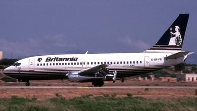 G-BFVB - Boeing 737-204(Adv) - Britannia Airways