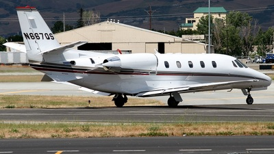 N667QS - Cessna 560XL Citation Excel - NetJets Aviation
