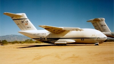 72-1875 - McDonnell Douglas YC-15A - United States - US Air Force (USAF)