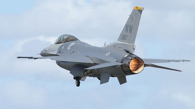 92-3887 - Lockheed Martin F-16C Fighting Falcon - United States - US Air Force (USAF)