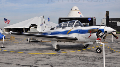 N608NA - Beechcraft T-34C Turbo Mentor - United States - National Aeronautics and Space Administration (NASA)
