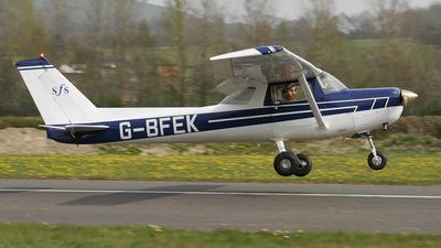 A picture of GBFEK - Cessna F152 - [1442] - © BRIAN NICHOLAS