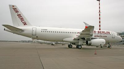 D-ANNF - Airbus A320-232 - Air Berlin (Blue Wings)