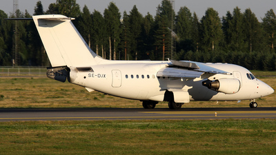 SE-DJX - British Aerospace Avro RJ70 - Malmö Aviation (Transwede Airways)