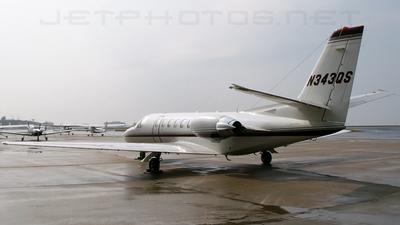 N343QS - Cessna 560 Citation Ultra - NetJets Aviation