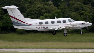 N444LN - Piper PA-42 Cheyenne III - Private