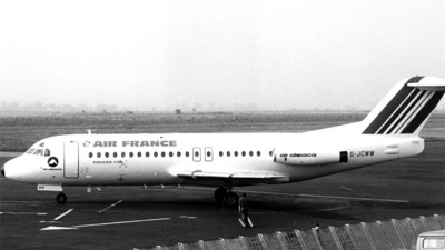 G-JCWW - Fokker F28-4000 Fellowship - Air France (Air Alsace)