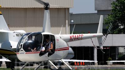A picture of N244CC - Robinson R44 - [0860] - © Agustin Anaya