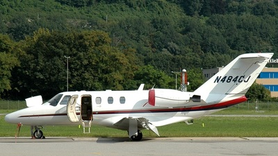 N484CJ - Cessna 525 CitationJet 1 - Private
