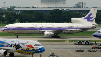 HS-AXE - Lockheed L-1011-1 Tristar - Thai Sky Airlines