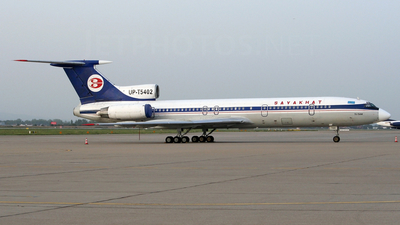UP-T5402 - Tupolev Tu-154M - Sayakhat Airlines