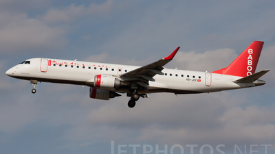 HB-JQF - Embraer 190-100LR - Baboo