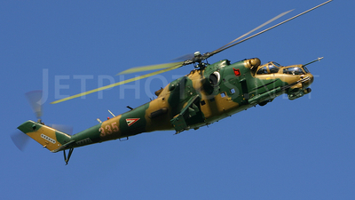 335 - Mil Mi-24 Hind - Hungary - Air Force
