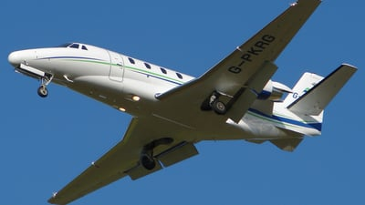 G-PKRG - Cessna 560XL Citation XLS - Parkridge Aviation
