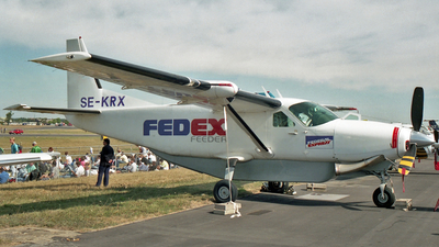 SE-KRX - Cessna 208A Cargomaster - Fedex Feeder (Euro Flight Sweden)