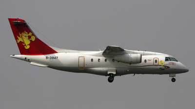 B-3947 - Dornier Do-328-300 Jet - Grand China Express