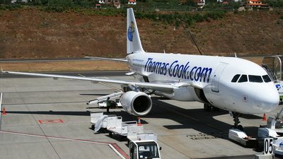 G-TCAC - Airbus A320-232 - Thomas Cook Airlines
