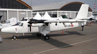 A picture of HBLRO - De Havilland Canada DHC6300 Twin Otter - [523] - © Michael Karch