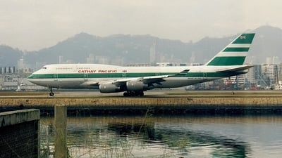 ZK-NBS - Boeing 747-419 - Cathay Pacific Airways