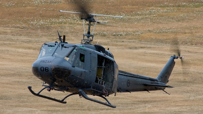 NZ3806 - Bell UH-1D Iroquois - New Zealand - Royal New Zealand Air Force (RNZAF)