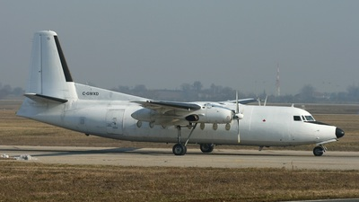 C-GWXD - Fokker F27-300M Troopship - WestEx Airlines