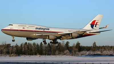 9M-MPJ - Boeing 747-4H6 - Malaysia Airlines
