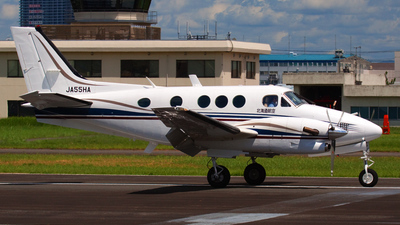 JA55HA - Beechcraft C90A King Air - Hokkaido Aviation (HKK)