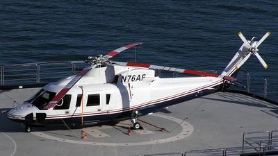 N76AF - Sikorsky S-76C - Private