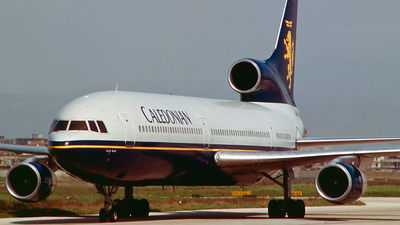 G-BBAH - Lockheed L-1011-100 Tristar - Caledonian Airways