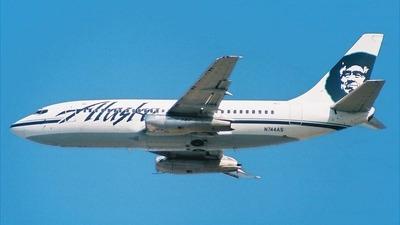 N744AS - Boeing 737-210C(Adv) - Alaska Airlines