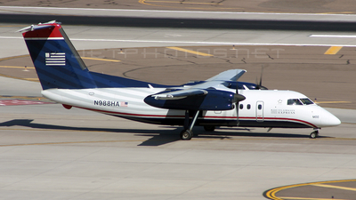 N988HA - Bombardier Dash 8-Q202 - US Airways Express (Mesa Airlines)