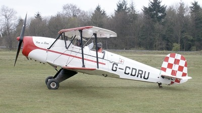 G-CDRU - CASA 1.131E Jungmann - Private