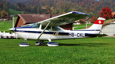 HB-CKL - Reims-Cessna F182Q Skylane II - Private