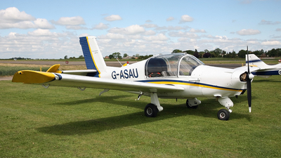 G-ASAU - Morane-Saulnier MS-880B Rallye Club - Private