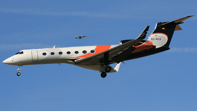 EC-KLS - Gulfstream G550 - Executive Airlines