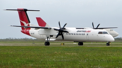 VH-QOE - Bombardier Dash 8-Q402 - QantasLink (Sunstate Airlines)