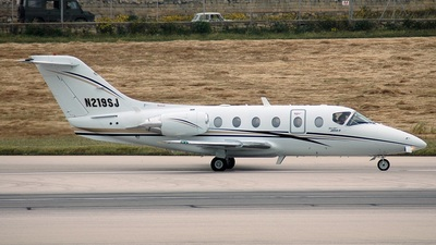 N219SJ - Beechcraft 400A Beechjet - Private
