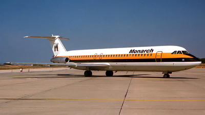 G-AXMG - British Aircraft Corporation BAC 1-11 Series 518FG - Monarch Airlines