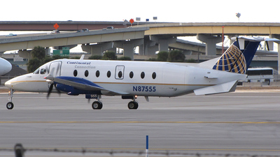 N87555 - Beech 1900D - Continental Connection (Gulfstream International Airlines)