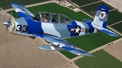 N34MT - Beechcraft T-34B Mentor - Private