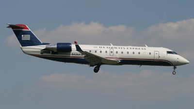 N436AW - Bombardier CRJ-200ER - US Airways Express (Air Wisconsin)